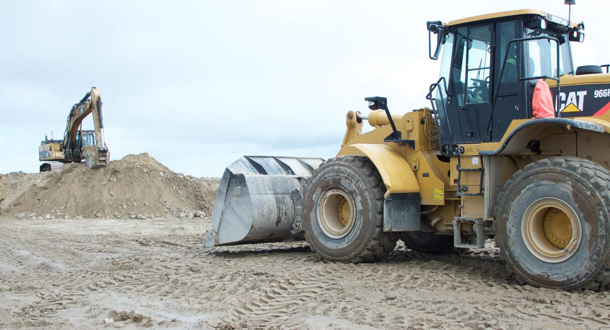 Photo of D6 Dozer at Camp Site